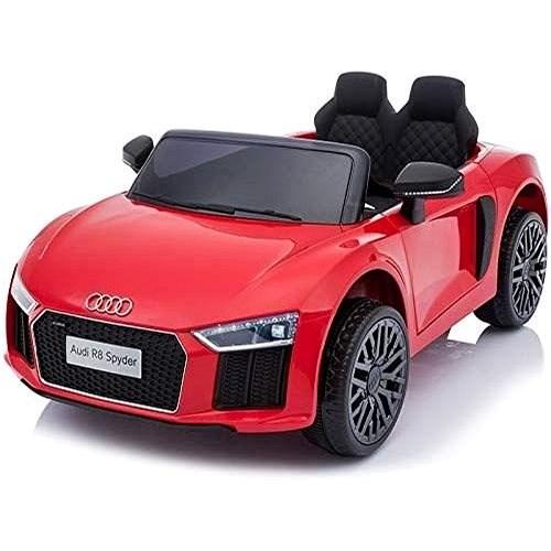 Audi R8 small, červené - Dětské elektrické auto