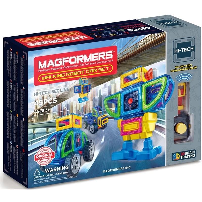Magformers RC Bugy/Robot - Magnetická stavebnice