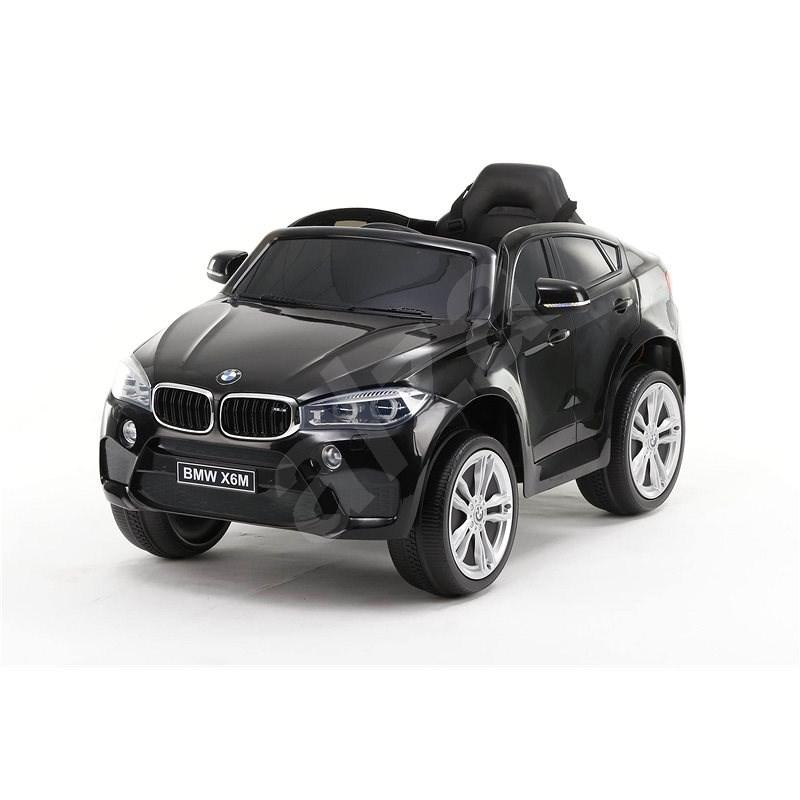 BMW X6M NEW - jednomístné, černé lakované - Dětské elektrické auto