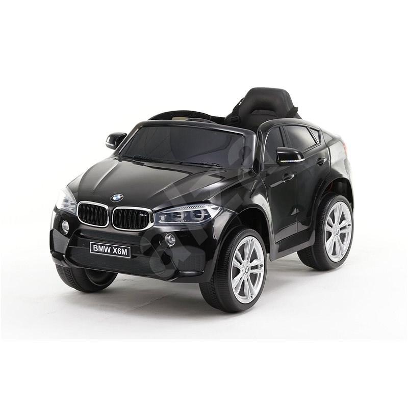 BMW X6M NEW - jednomístné, černé   - Dětské elektrické auto