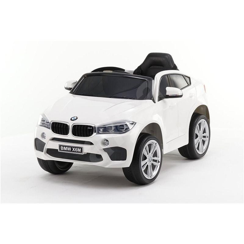 BMW X6M NEW - jednomístné, bílé - Dětské elektrické auto