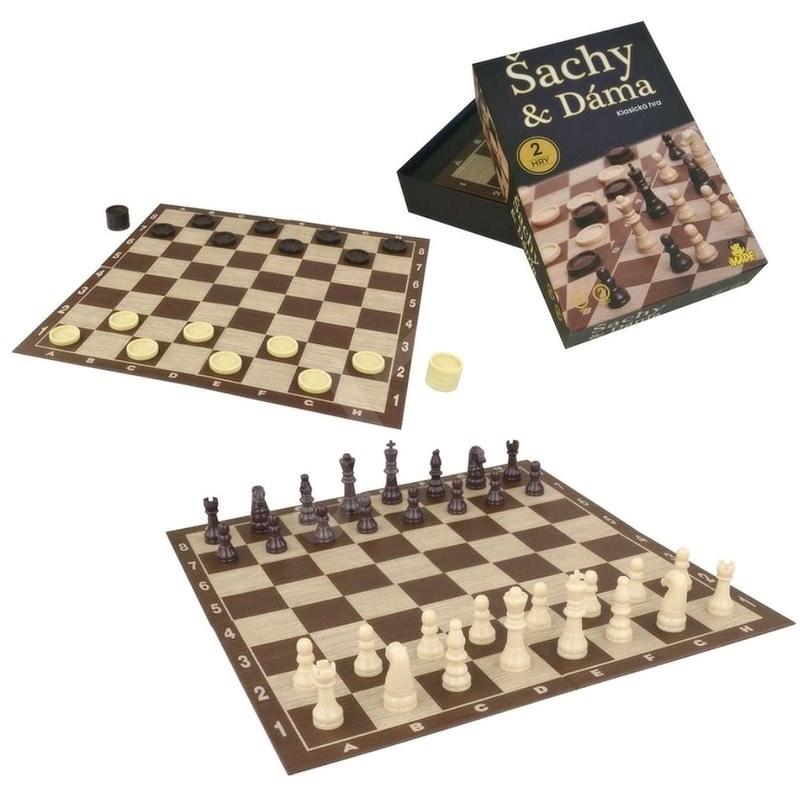 Šachy a Dáma - Společenská hra