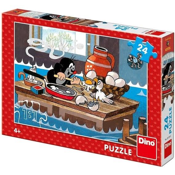 Dino Krtek a orel 24 dílků - Puzzle