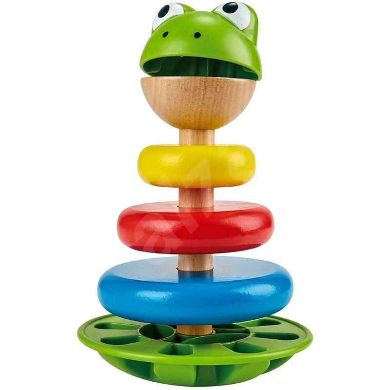 Hape Skládací žabák - Hračka pro nejmenší