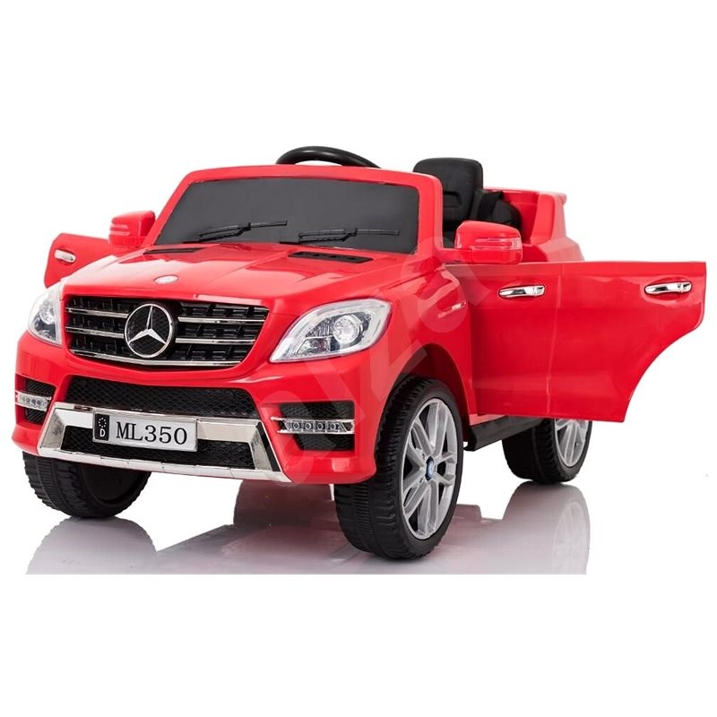 Mercedes-Benz ML350, červené  - Dětské elektrické auto