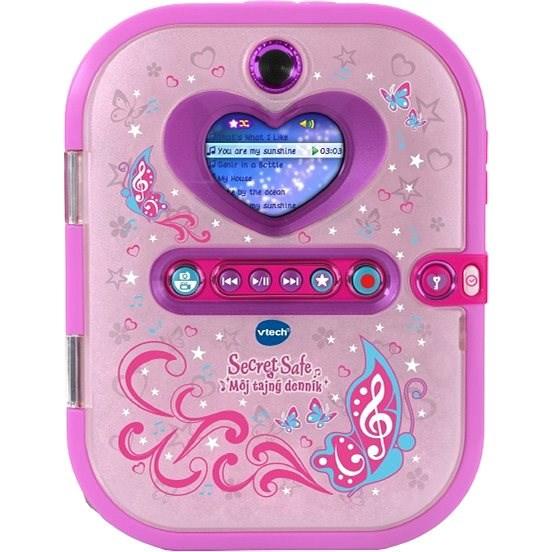 Vtech Kidi Secret Safe - Môj tajný denník SK - Interaktivní hračka