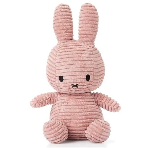 Miffy Corduroy dark pink 24 cm - Plyšák