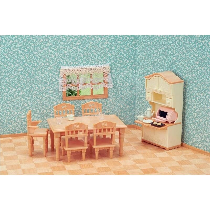 Sylvanian Families set - jídelna - Doplňky k figurkám