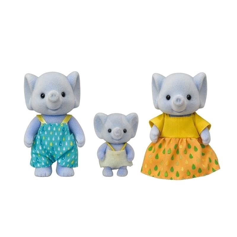 Sylvanian Families Rodina 3 slonů - Figurky