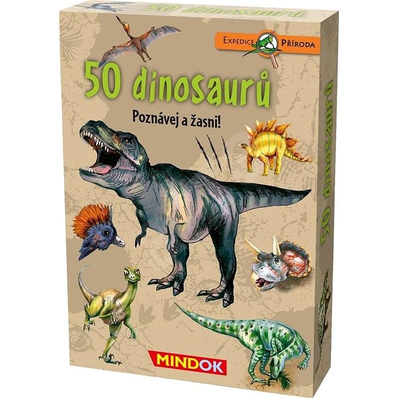 Expedice příroda: 50 dinosaurů - Společenská hra