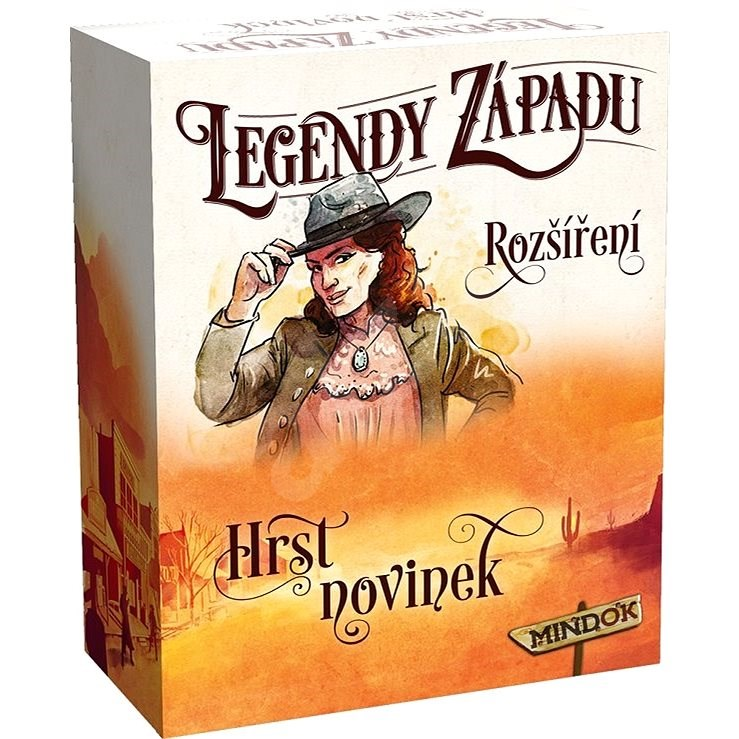 Legendy západu: Hrst novinek - Rozšíření společenské hry