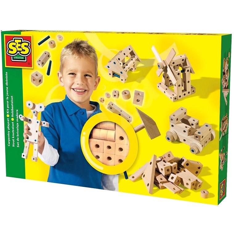 SES Skládání ze dřeva - Vyrábění pro děti