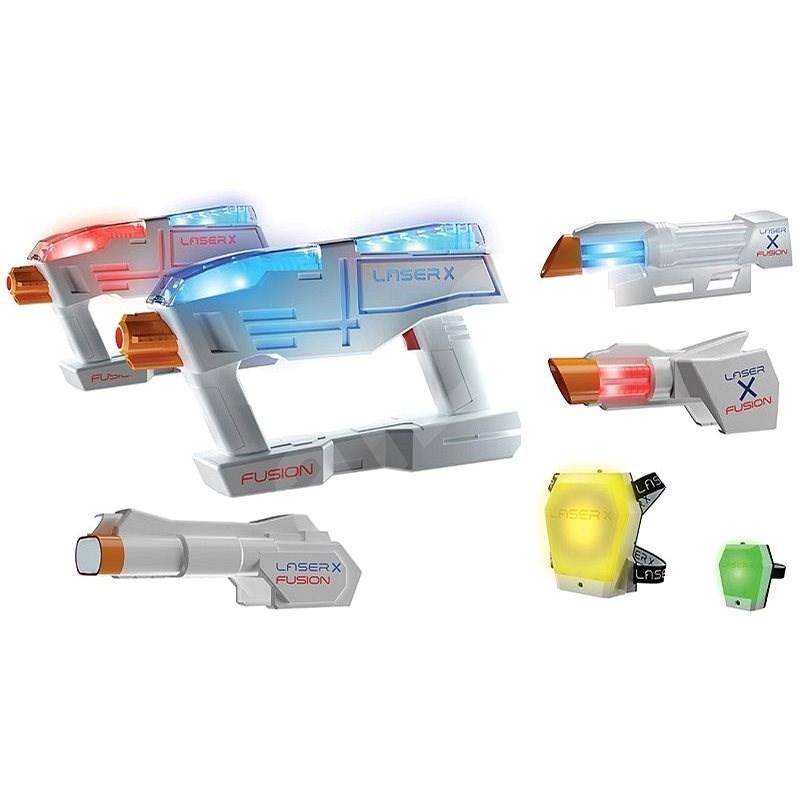 Laser-X  Fusion komplet - Dětská zbraň