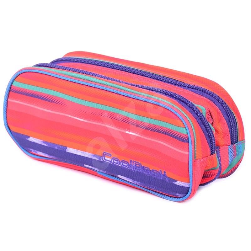 CoolPack Texture Stripes - Pouzdro do školy