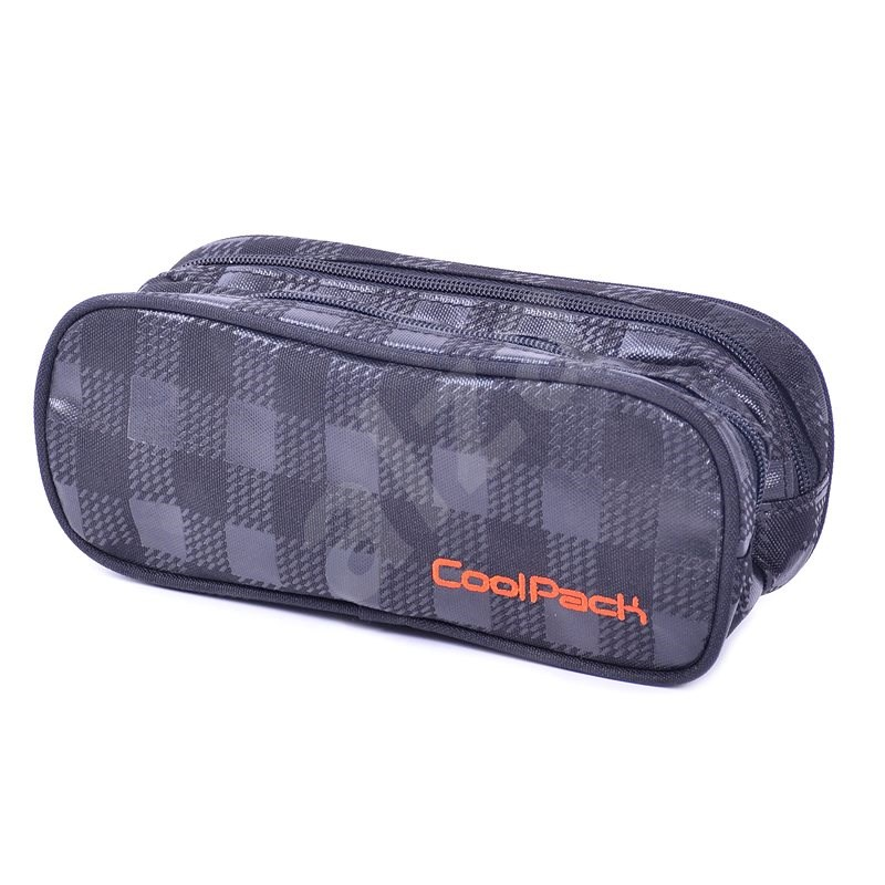 CoolPack Black & Orange - Pouzdro do školy