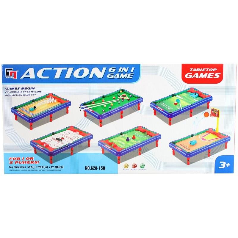 Sada sportovních her 6v1 - Společenská hra