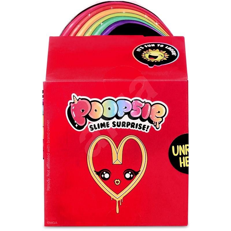 Poopsie Surprise Balíček pro přípravu slizu, červený - Kreativní hračka