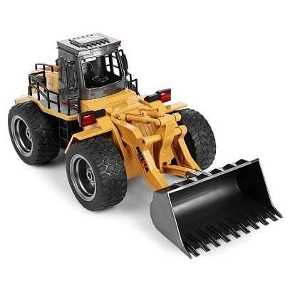 Kolový nakladač s kovovou lžící - RC auto na dálkové ovládání