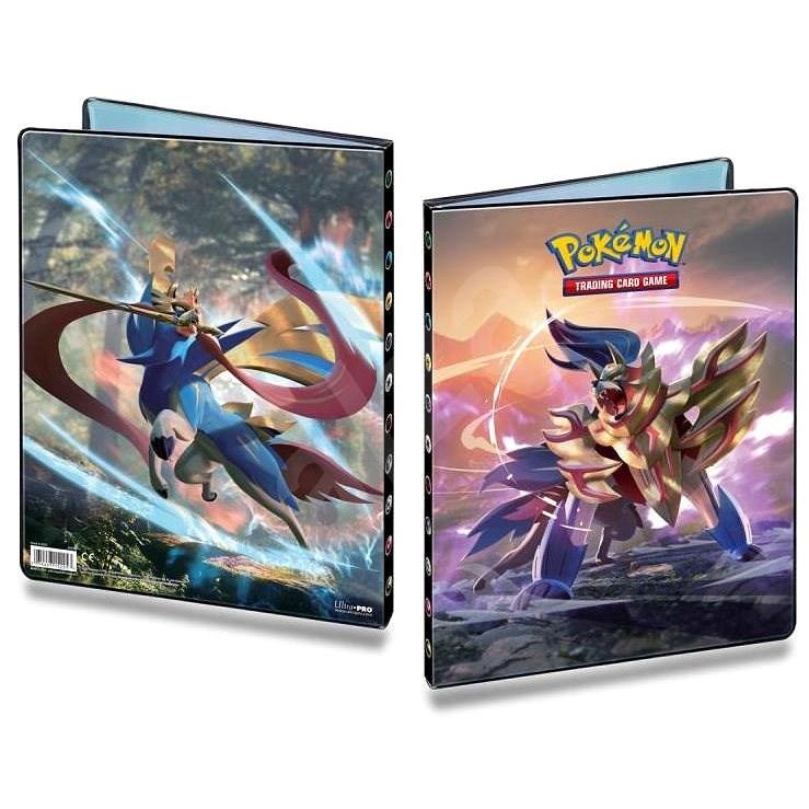 Pokémon: Sword and Shield  - A4 album na 252 karet - Karetní hra