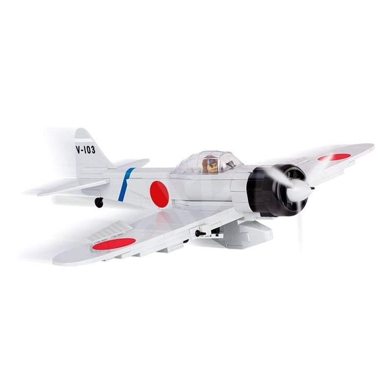 """Cobi 5515 II WW Mitsubishi A6M2 """"Zero-Sen"""" - Stavebnice"""