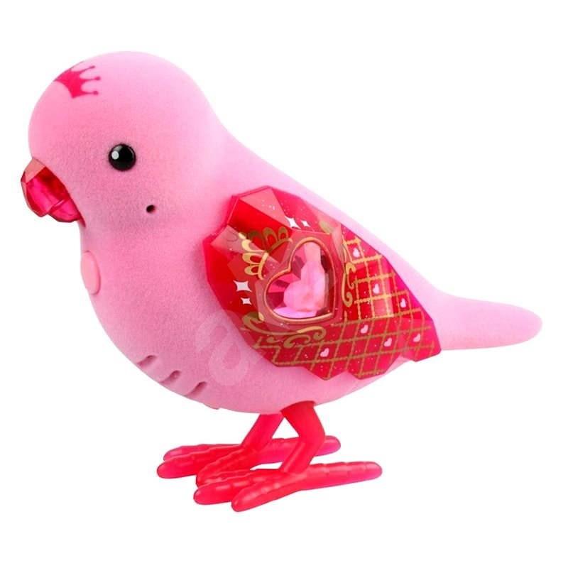 Little Live Pets Ptáček 6 růžový - Interaktivní hračka