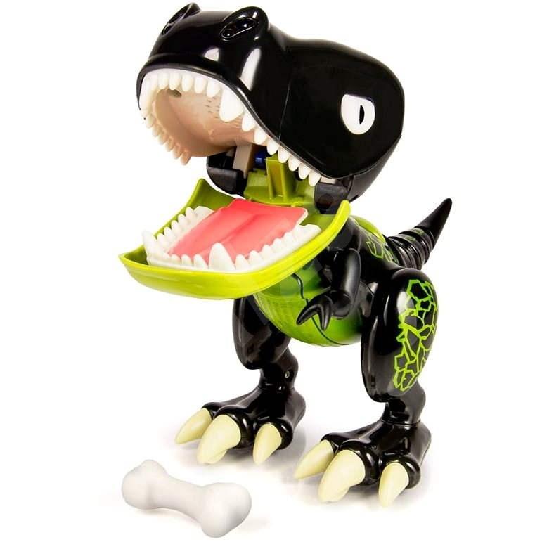 Cobi Zoomer Chomplingz / Tlamosaurus černý - Interaktivní hračka