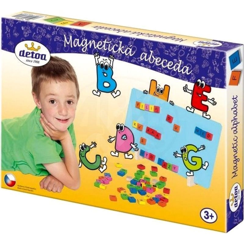 Detoa Magnetická abeceda - Stavebnice