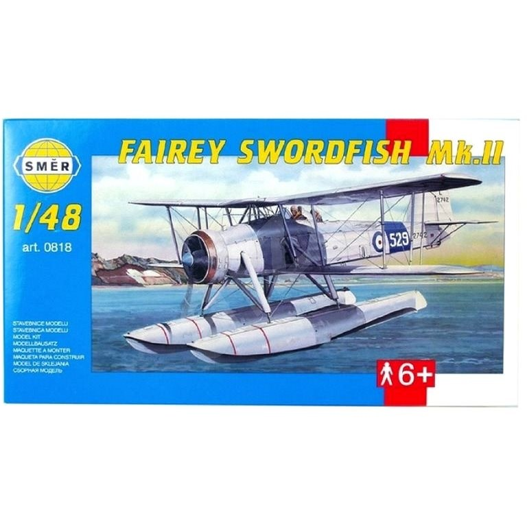 Směr Model Kit 0818 letadlo – Fairey Swordfish Mk.II - Model letadla