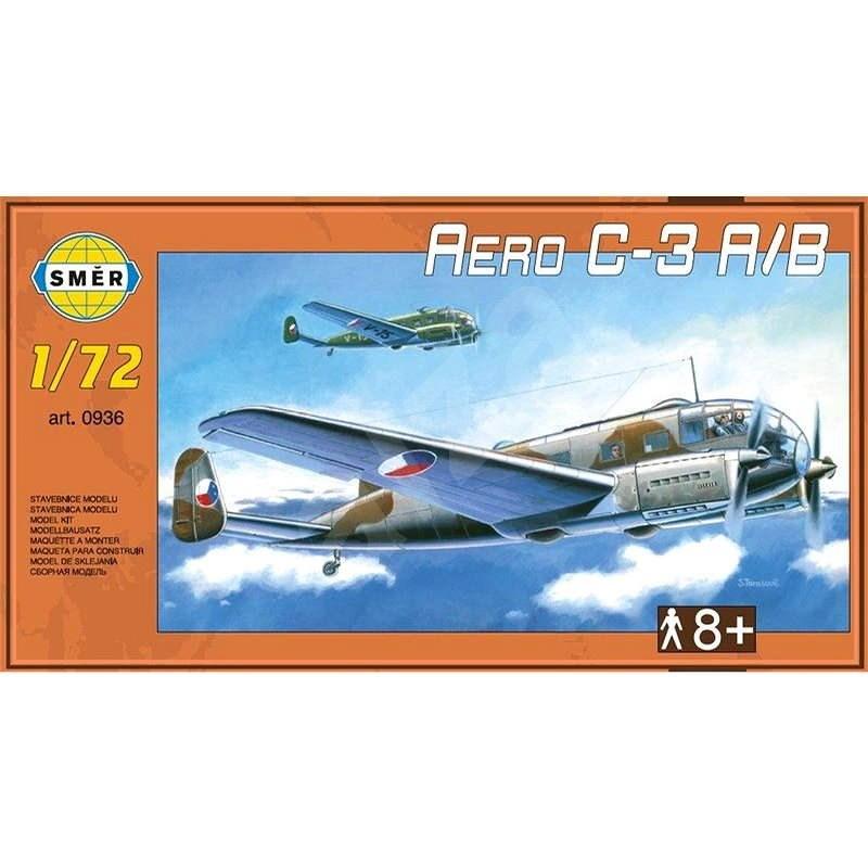 Směr Model Kit 0936 letadlo – Aero C-3 A/B - Model letadla