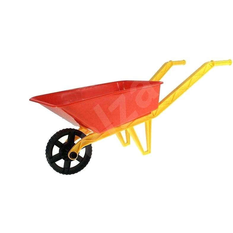 Teddies Kolečko červené - Dětské zahradní kolečko