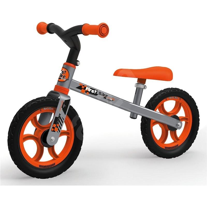 Smoby Cykloodrážedlo oranžové - Dětské odrážedlo