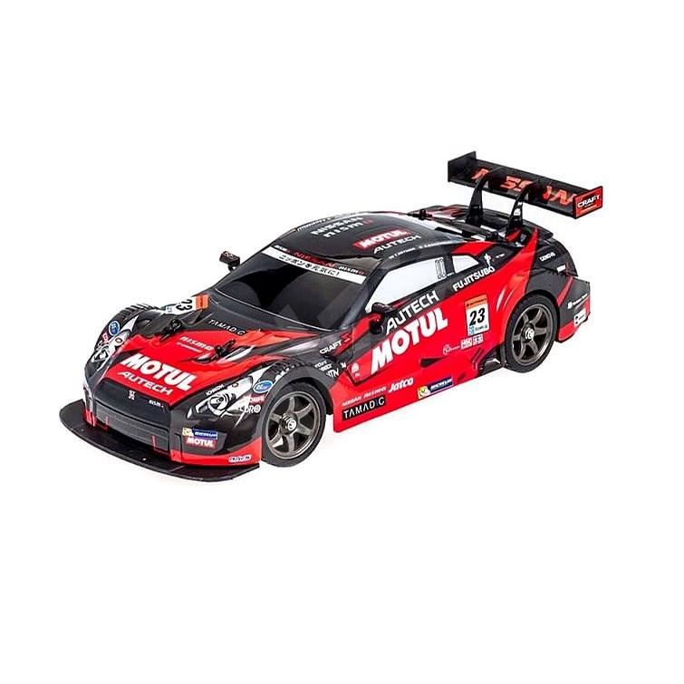 RCBuy Nissan GT-R Black/Red - RC auto na dálkové ovládání