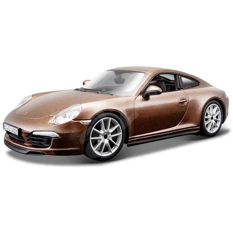 Bburago Porsche 911 Carrera S hnědá 1:24 - Auto
