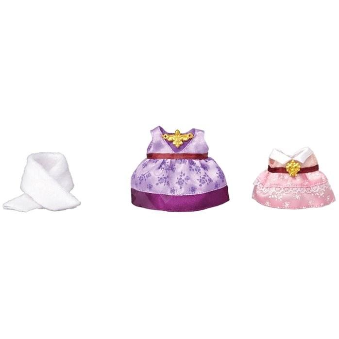 Sylvanian Families Město - oblečky (fialovo-růžová) - Doplňky k figurkám