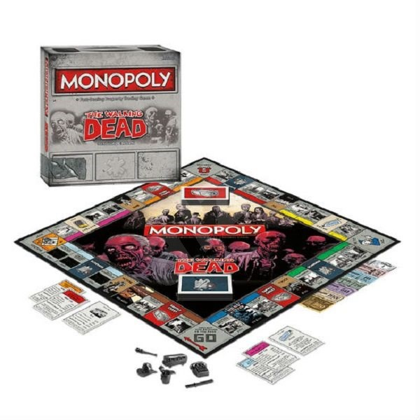 Monopoly Walking Dead, ENG - Společenská hra
