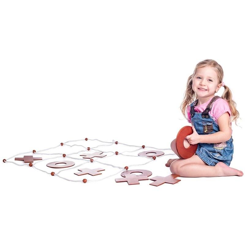 Woody Zahradní piškvorky - Venkovní hra