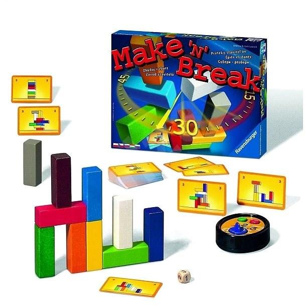 Ravensburger 263677 Make and Break  - Společenská hra