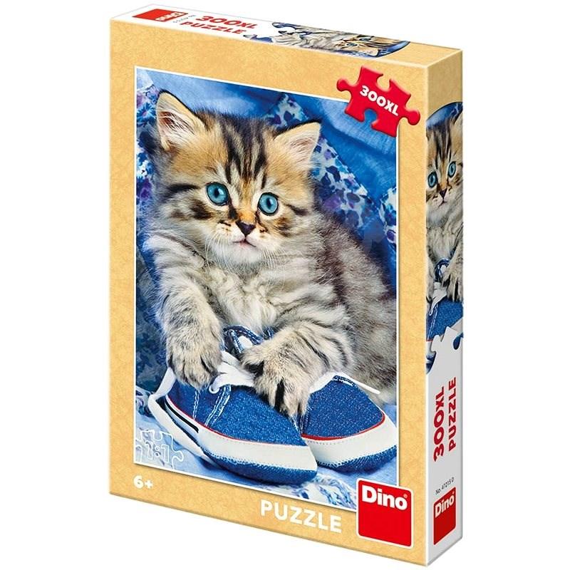 Kotě v modré botě   - Puzzle
