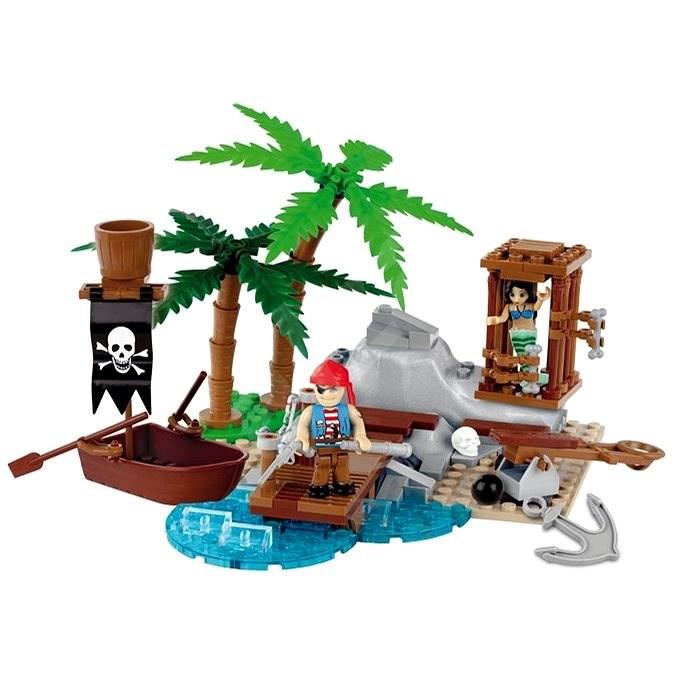 Cobi 6023 Piráti Záchrana mořské panny - Stavebnice