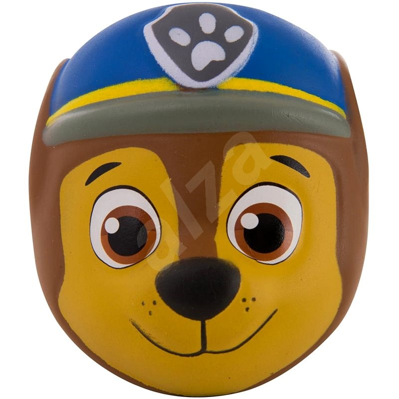 Tlapková patrola Squeeze Chase - modrá helma - Figurka