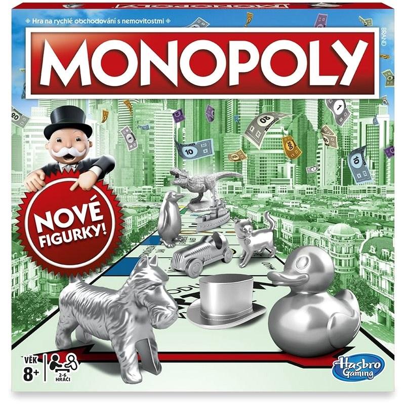 Monopoly nové CZ  - Společenská hra