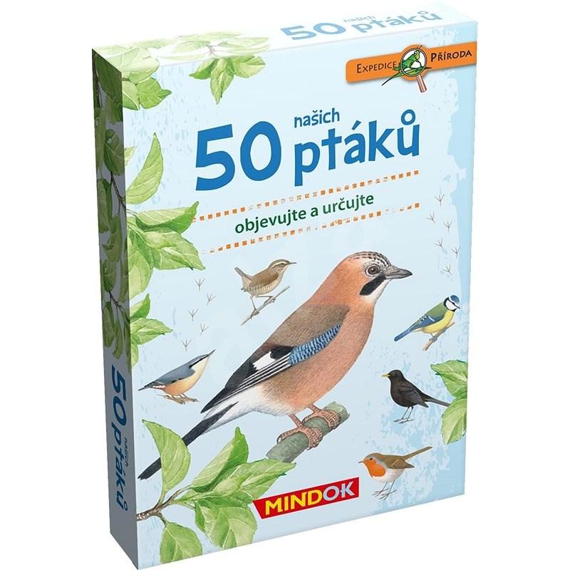 Expedice příroda: 50 ptáků - Společenská hra
