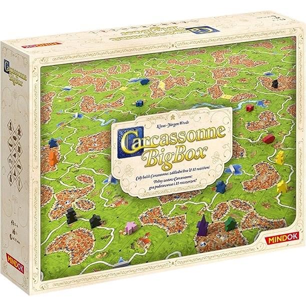 Carcassonne: Big Box 2017 - Společenská hra