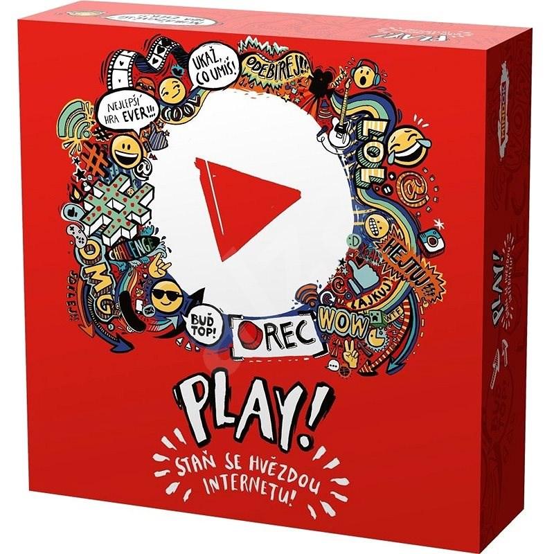 Play! Staň se hvězdou internetu - Společenská hra