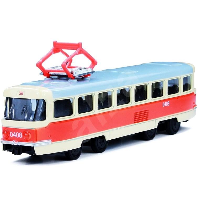 Rappa Kovová tramvaj  - Kovový model