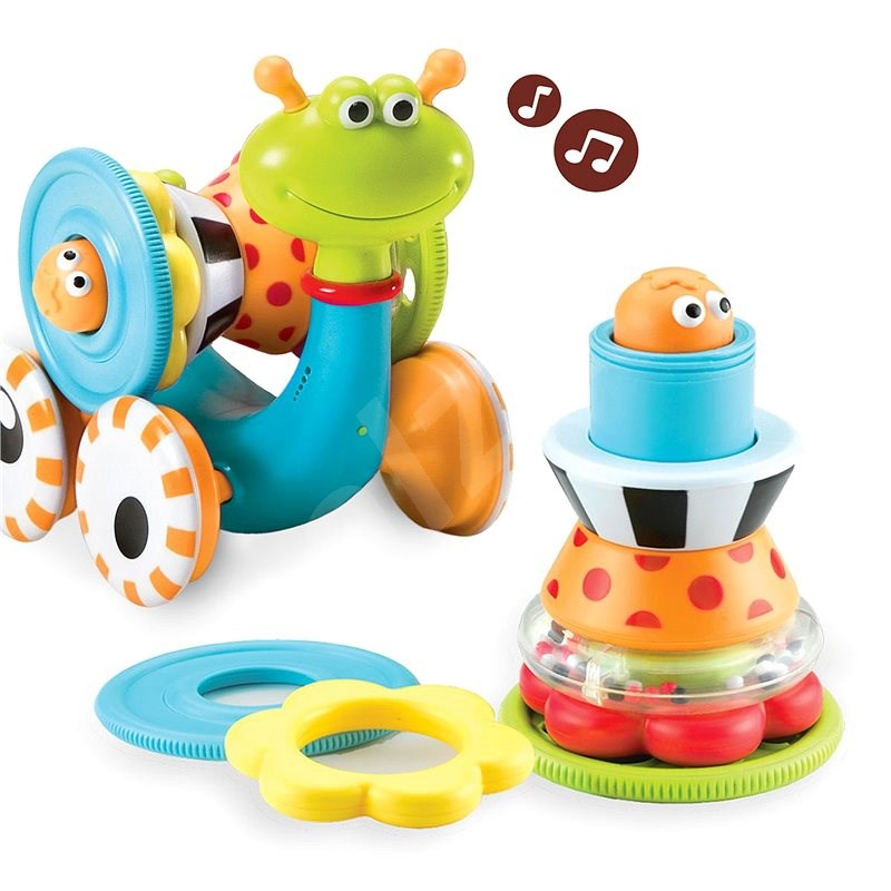 Yookidoo - Jezdící šnek - Interaktivní hračka
