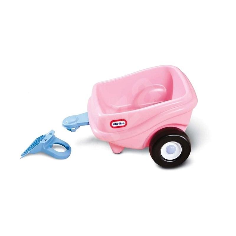 Little Tikes Růžový přívěs ke Cozy Coupe - Odrážedlo