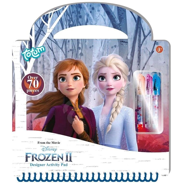 Ledové království II - kreativní kniha - Kreativní sada