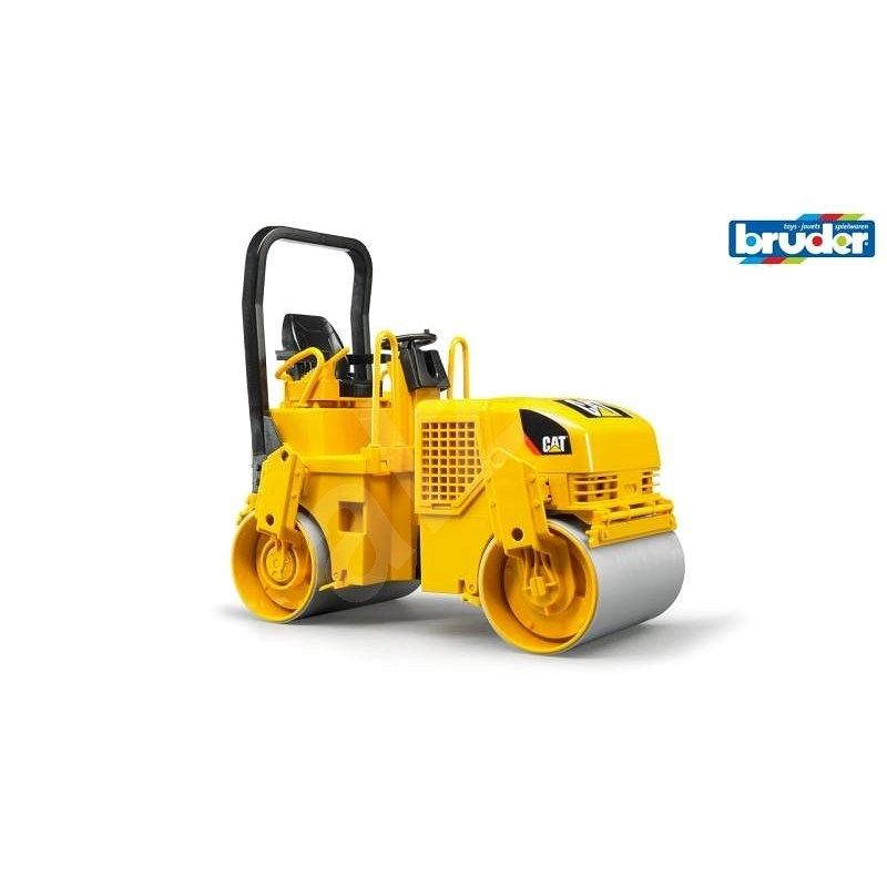 Bruder Konstrukční vozy - CAT válcovací stroj při pokládání asfaltu 1:16 - Auto
