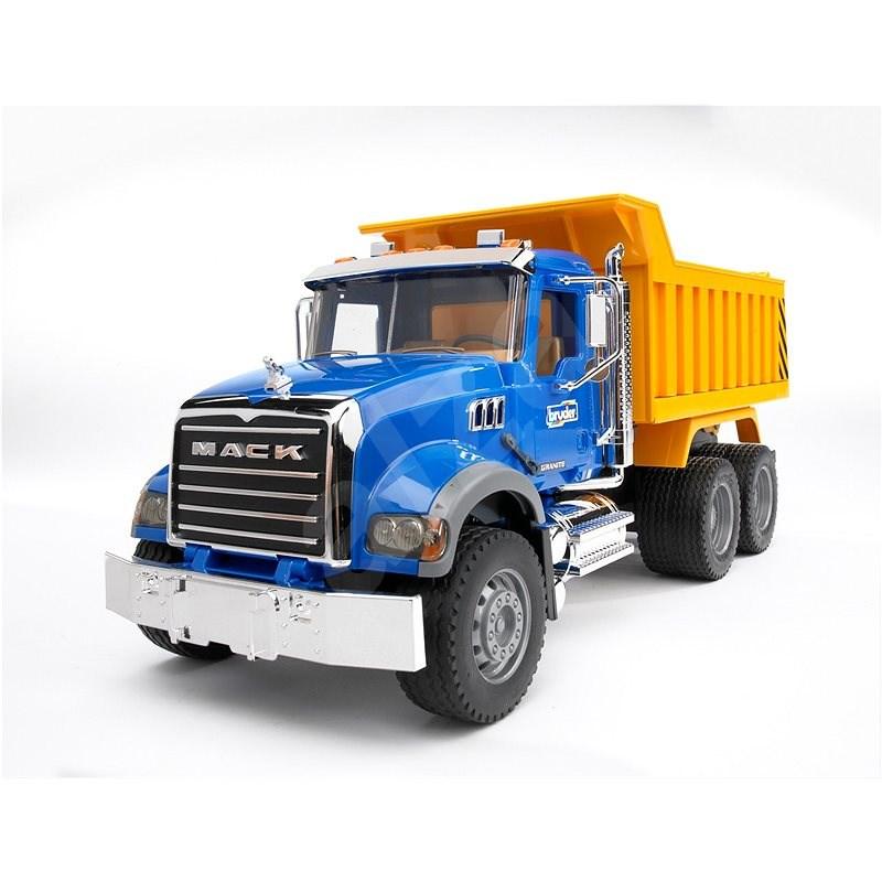 Bruder Konstrukční vozy - MACK Granite nákladní auto - Auto